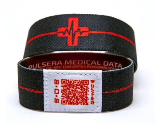 Pulsera QR Emergencias
