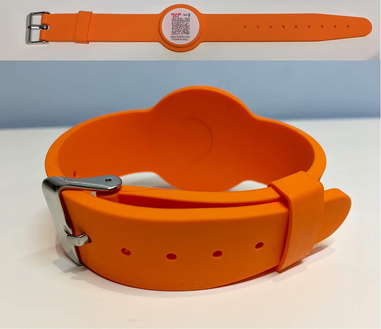 Pulsera QR Naranja